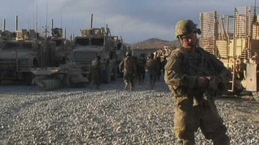 U.S. forces are scheduled to begin a withdrawal from Afghanistan starting in July.