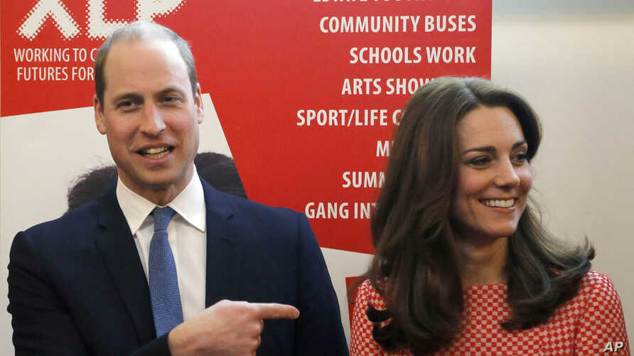 William and Kate visit XLP Project in London, March 11, 2016.