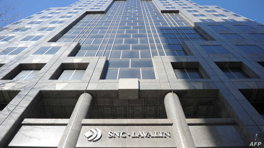 The SNC-Lavalin headquarters in Montreal, Canada, on February 28, 2019.