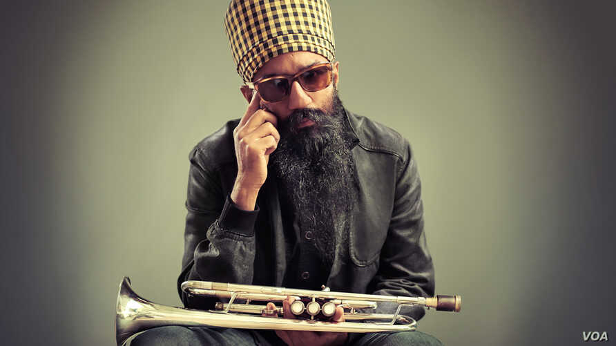 Amit and Naroop's final portrait of Sonny Singh, an original member of the acclaimed Brooklyn Bhangra band, Red Baraat.