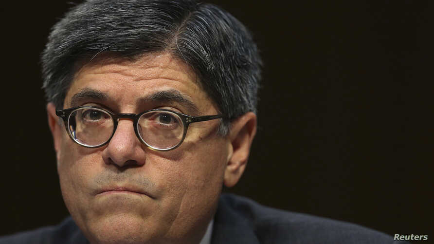US Treasury Secretary Jack Lew testifies before the Senate Finance Committee on the US government debt limit in Washington, Oct. 10, 2013.