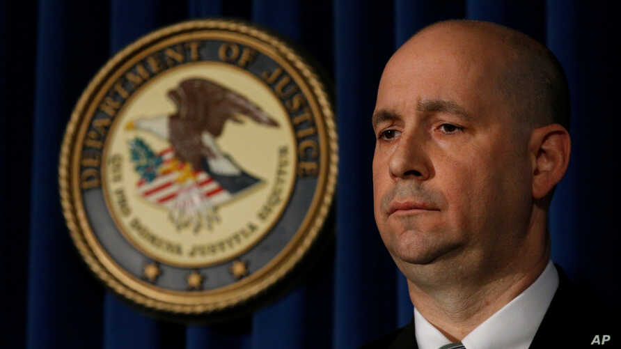 William F. Sweeney, Assistant Director-in-Charge of the New York Office of the Federal Bureau of Investigation, attends a news conference in New York, Dec. 12, 2017.