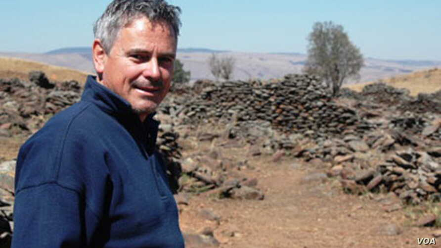 Ubuntu Party leader Michael Tellinger is an expert on ancient civilizations who wants to get rid of South Africa's banks banks and its currency (Courtesy Ubuntu Party)