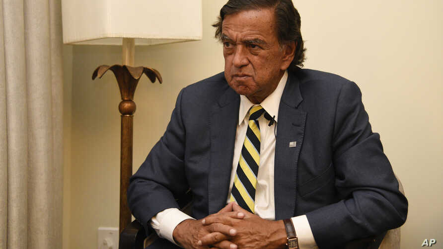During an interview with the Associated Press, Former New Mexico Gov. Bill Richardson said he has resigned from an advisory panel trying to tackle the massive Rohingya refugee crisis.