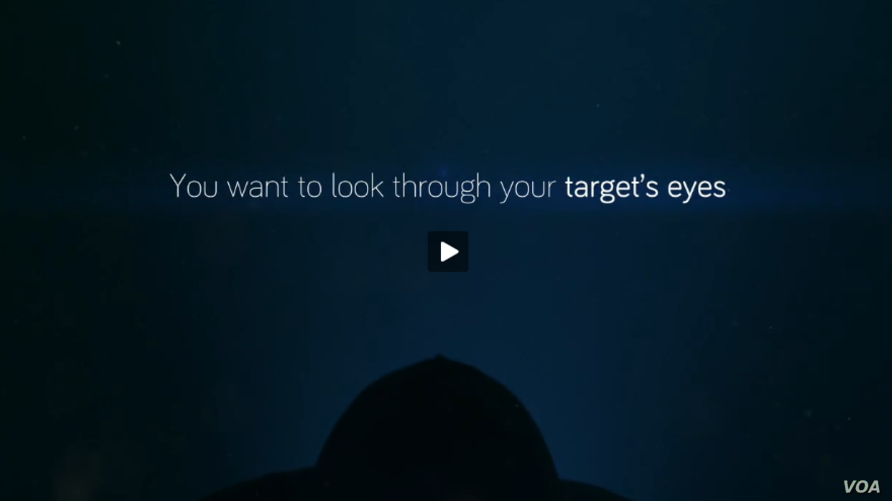In a screenshot from a Hacking Team promotional video, the company touts its ability to surveil potential targets.