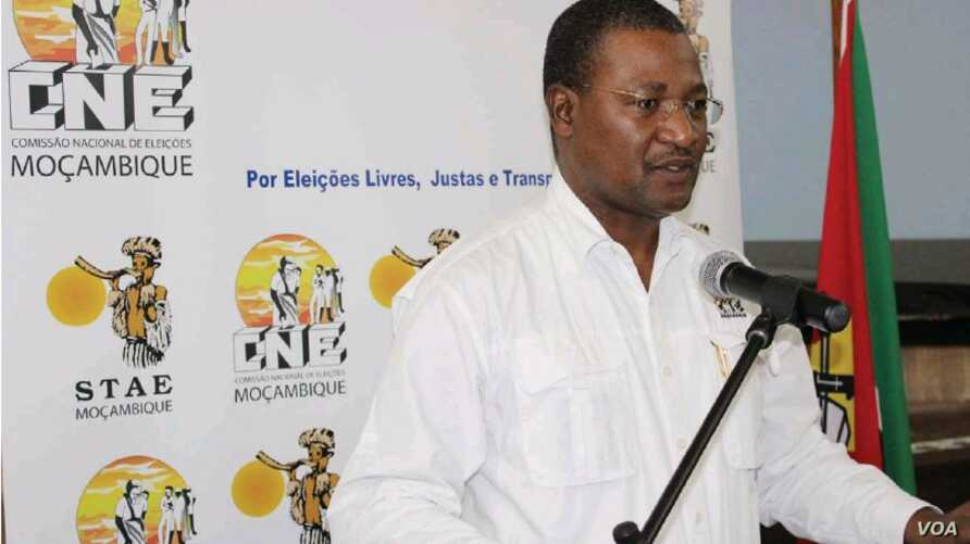 Paulo Cuinica is spokesman for Mozambique's National Electoral Commission (CNE)