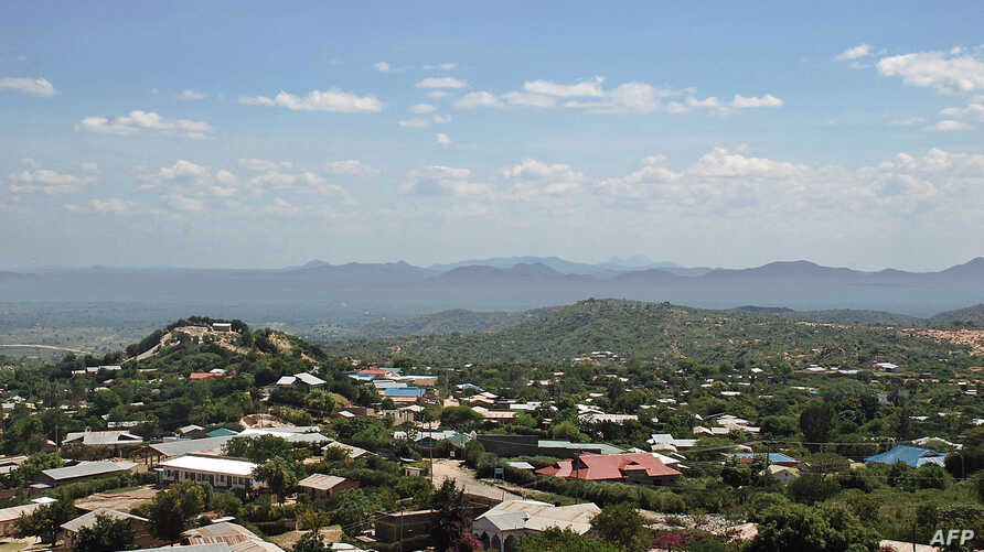 FILE - The town of Moyale in Kenya's remote northern frontier, Dec. 8, 2013.
