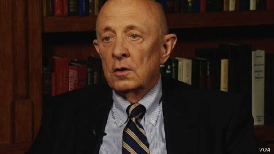 R. James Woolsey, former CIA director