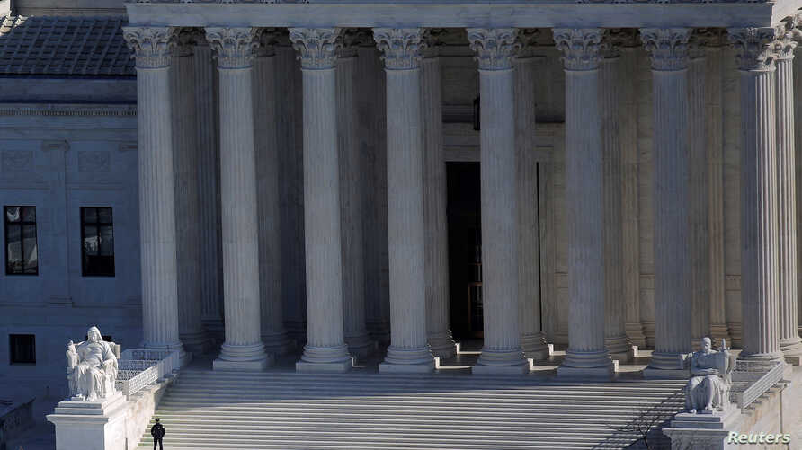 FILE - The U.S. Supreme Court building is pictured in Washington, D.C., Dec. 15, 2016.