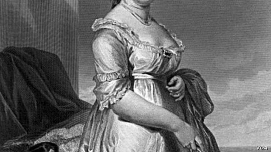 Dolley Madison, wife of the nation's fourth president, was