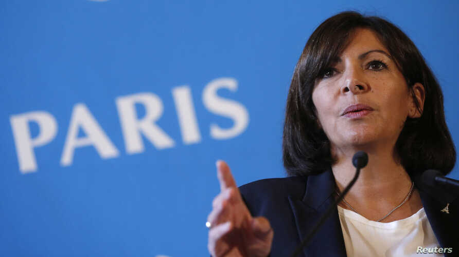 "FILE - Paris Mayor Anne Hidalgo says ""the image of Paris has been prejudiced"" by Fox News."