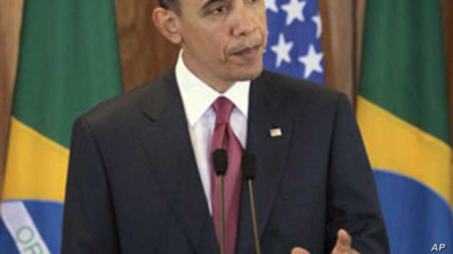 Obama: Coalition Military Strikes Answer Libyan People's Calls