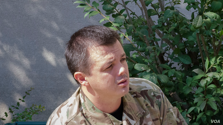Semеn Semеnchenko, commander of the Donbas battalion, a vo
