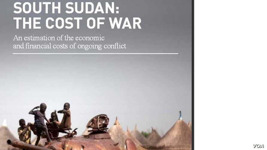A report by Frontier Economics says the conflict in South Sudan will cost the country hundreds of billions of dollars that it can ill-afford, unless it is ended soon.