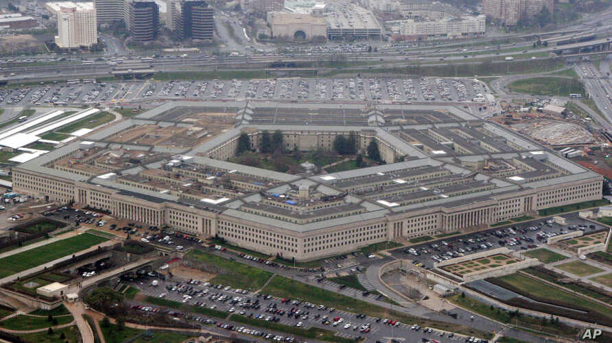 FILE - The Pentagon is seen in this aerial view in Washington, March 27, 2008.