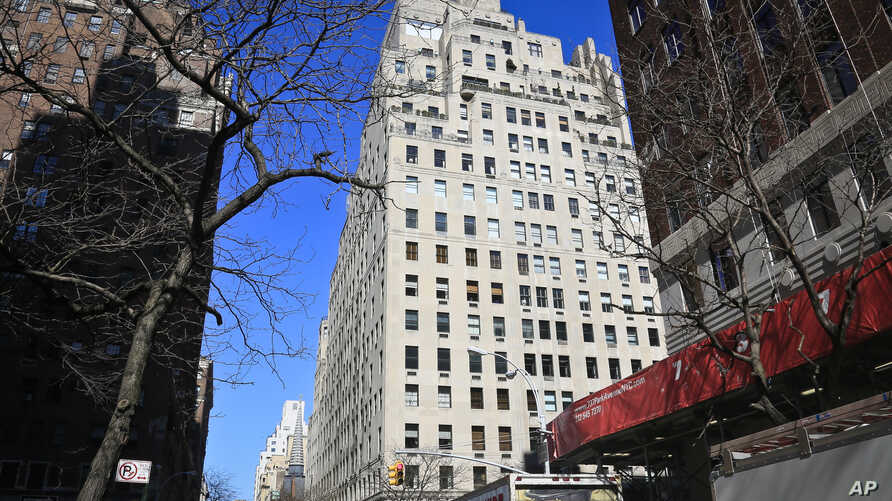 740 Park Avenue, an upscale residential building in New York City, April 10, 2014.