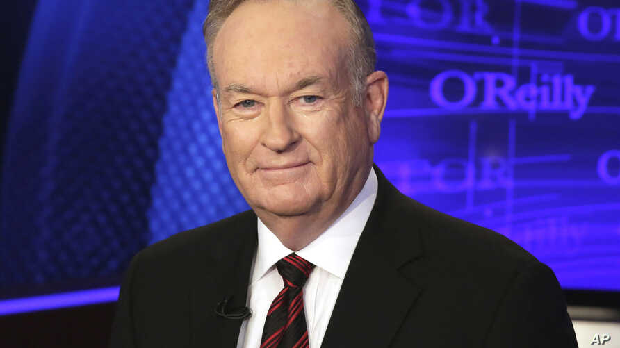 "FILE - Bill O'Reilly of the Fox News Channel program ""The O'Reilly Factor"" is shown Oct. 1, 2015."