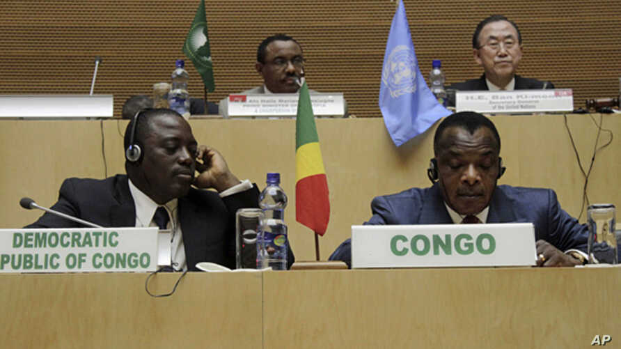 African Leaders Sign DRC Peace Deal | Voice of America - English