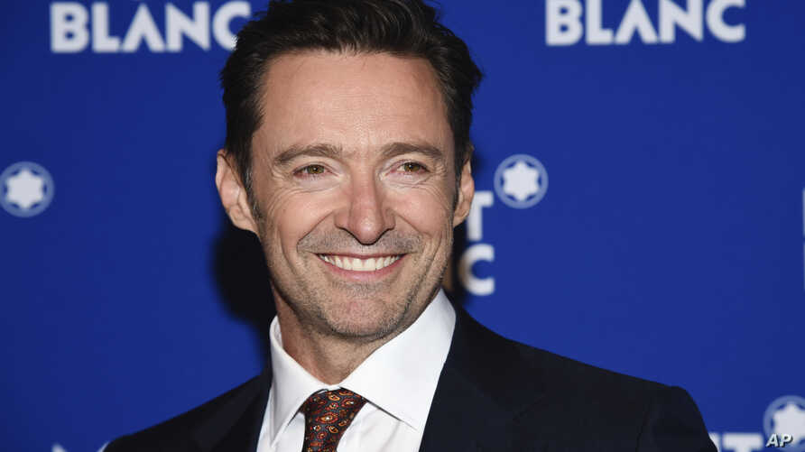 FILE - Hugh Jackman attends Montblanc's celebration of the 75th anniversary of Le Petit Prince in New York, April 4, 2018.
