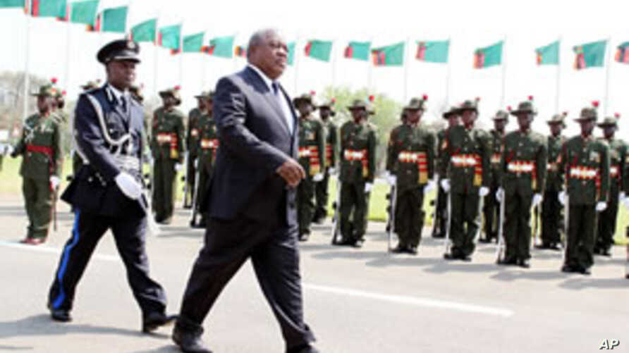 Western Zambian Province Said Calm after Secessionist Clashes