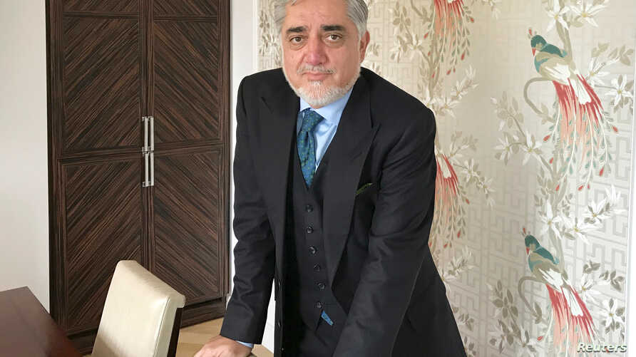 Afghanistan's Chief Executive Abdullah Abdullah is pictured in London, June 7, 2018.