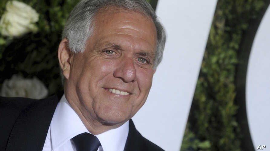 FILE - Les Moonves at The 71st Annual Tony Awards in New York City, June 11, 2017. Moonves, the chairman and CEO of CBS, has been accused of sexual misconduct and is under investigation by CBS.