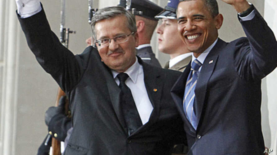 Obama Meets With European Leaders In Poland