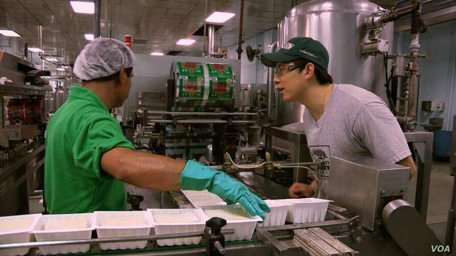 Gary Chiu of Banyan Foods works in the family business, the oldest tofu factory in Houston, founded in 1978.