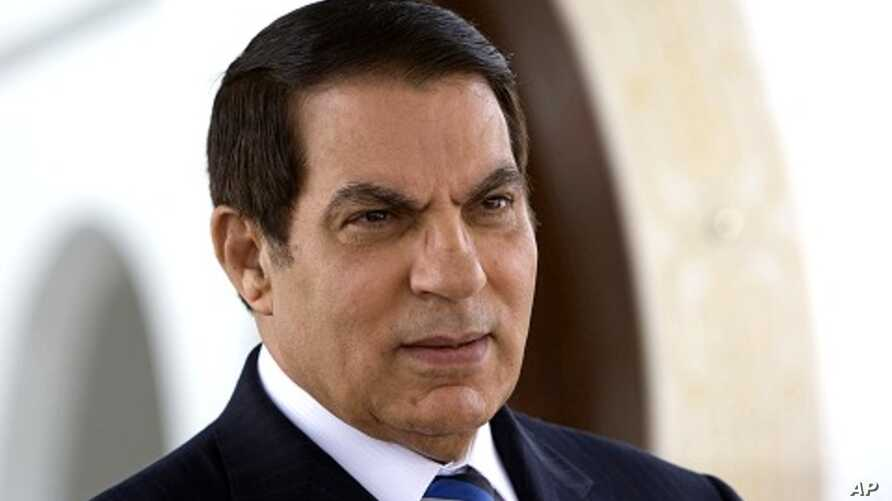 Deposed Tunisian President Zine El Abidine Ben Ali (file photo)