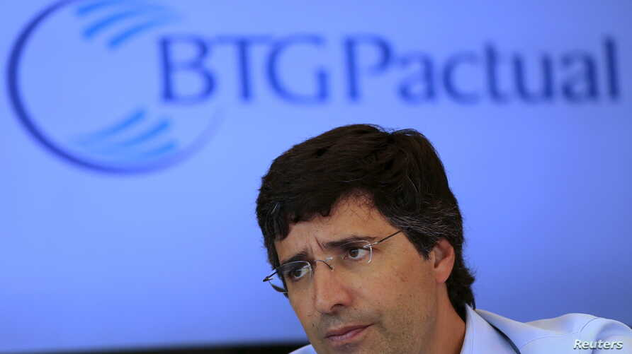 Andre Esteves, CEO of BTG Pactual SA bank, is pictured during an interview in Sao Paulo, July 22, 2014.