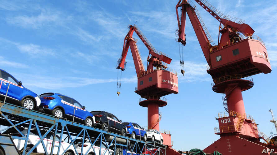 Car export Lianyungang 20180531