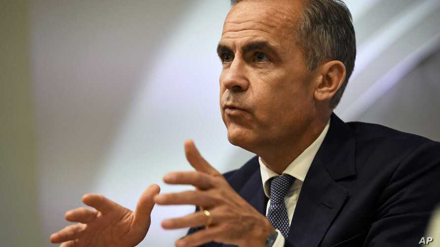 Bank of England governor Mark Carney speaks during a news conference in London, July 5, 2016.