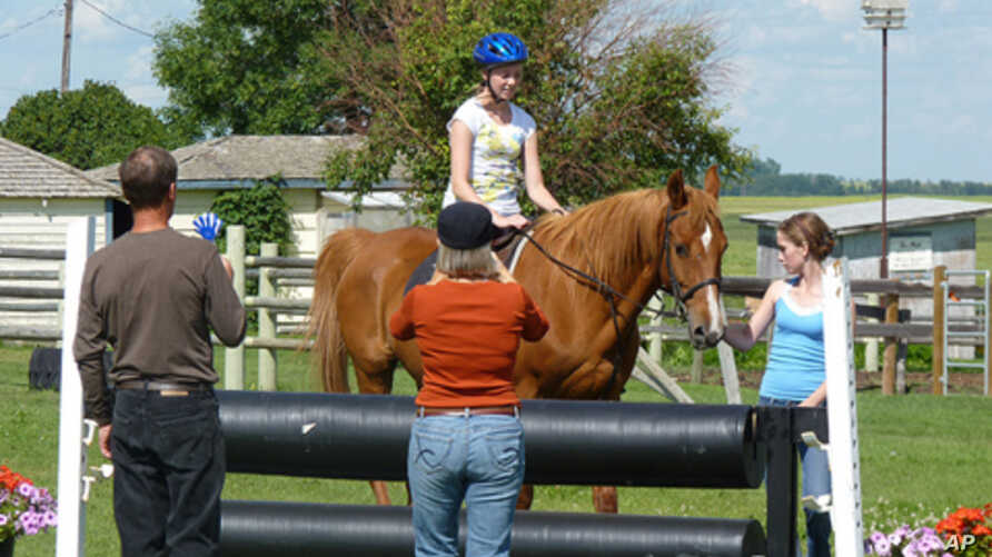 If ever there was a summer-camp staple, it's horseback rid