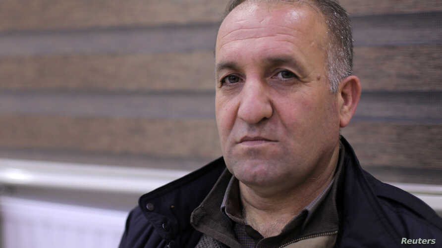 Senior Kurdish official Badran Jia Kurd is pictured during an interview with Reuters, in Qamishli, Syria, Jan. 3, 2019.
