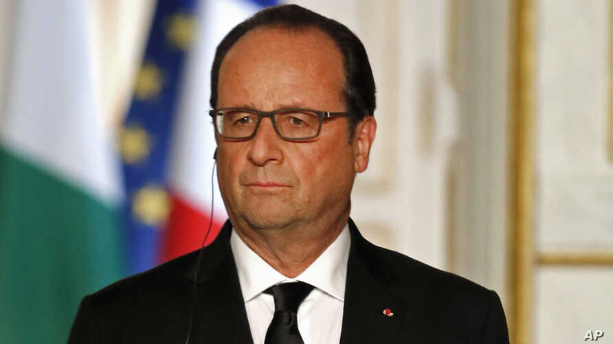 French President Francois Hollande, Sept. 14 , 2015.