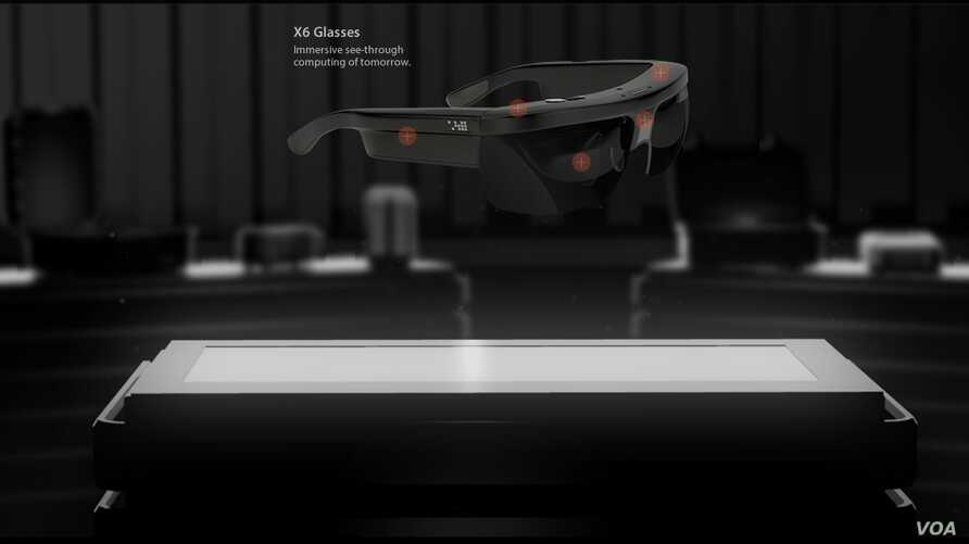 A screenshot of ODG web site, the San Francisco-based Osterhout Design Group developing the X6 glasses, June, 27, 2014.