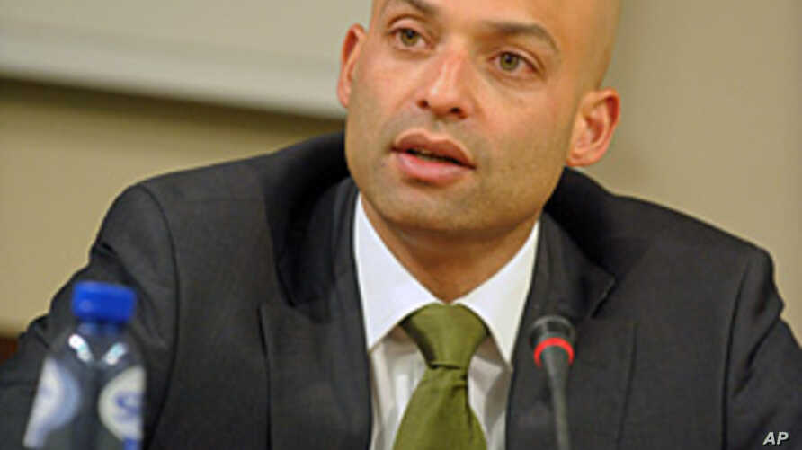 James Appathurai, NATO Spokesman (undated photo)