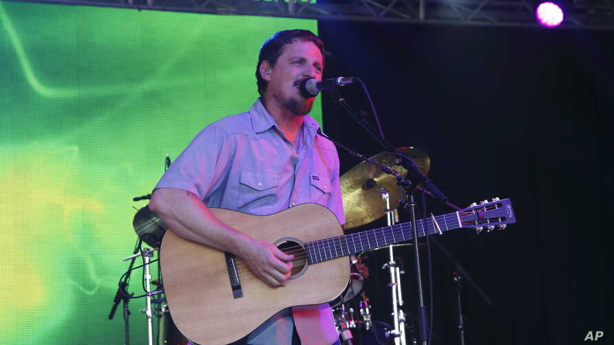 Sturgill Simpson performs at the 2015 Bonnaroo Music and Arts Festival, June 13, 2015, in Manchester, Tennessee.