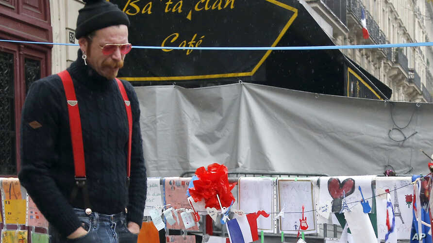 Jesse Hughes of the band Eagles of Death Metal — the band