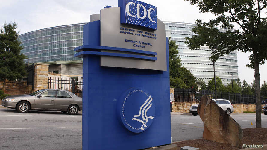 The Centers for Disease Control sign is seen at its main facility in Atlanta, Georgia, June 20, 2014.