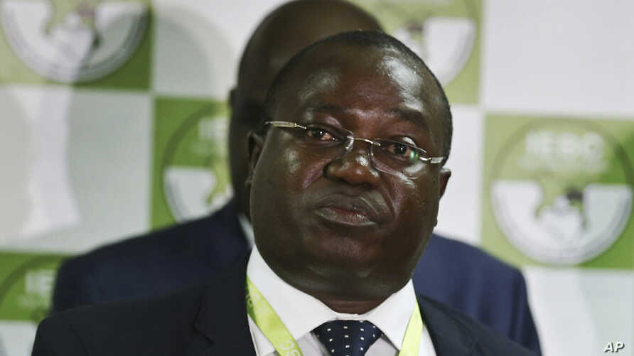 Christopher Msando, an information technology official for Kenya's electoral commission, speaks at a press conference in Nairobi, July 6, 2017.