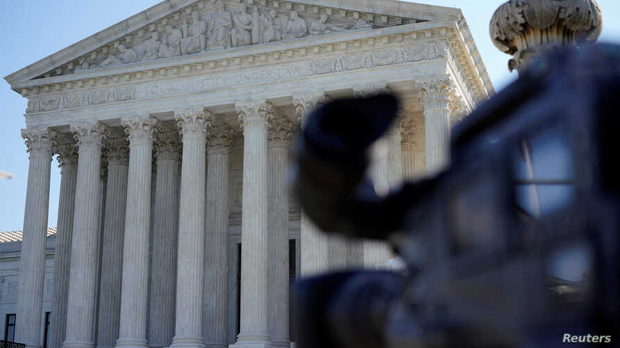 The Supreme Court is seen in Washington, Oct. 1, 2018.