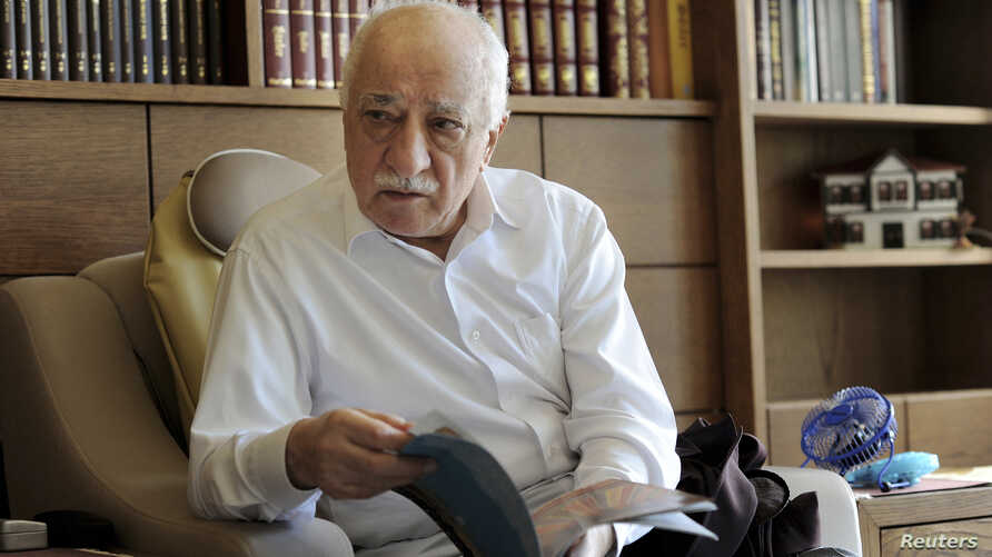 FILE - Islamic preacher Fethullah Gulen is pictured at his residence in Saylorsburg, Pa., Sept. 26, 2013.