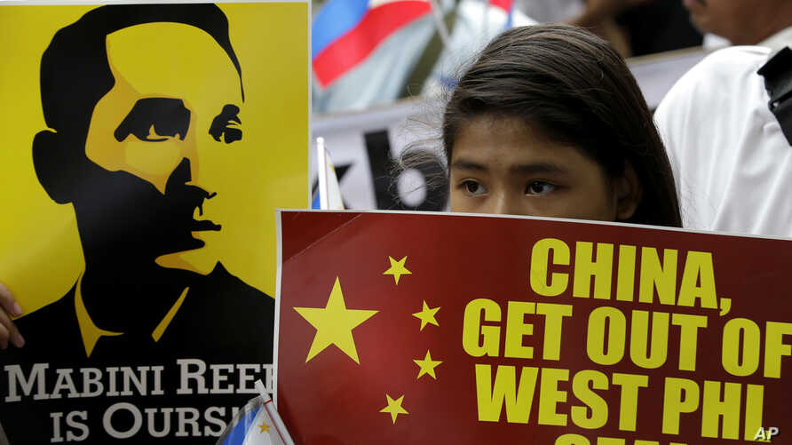 Philippines China Protest