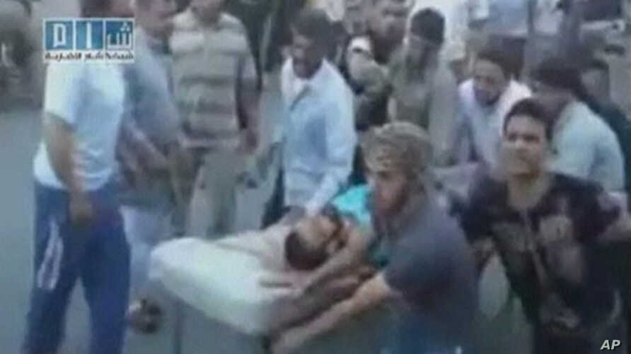 REUTERS CANNOT INDEPENDENTLY VERIFY CONTENT OF THE VIDEO FROM WHICH THIS STILL IMAGE WAS TAKEN. 