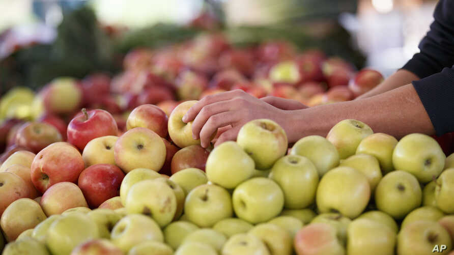 Apples are among the many crops that growers treat with chlorpyrifos, a pesticide that the Environmental Protection Agency wants to ban.