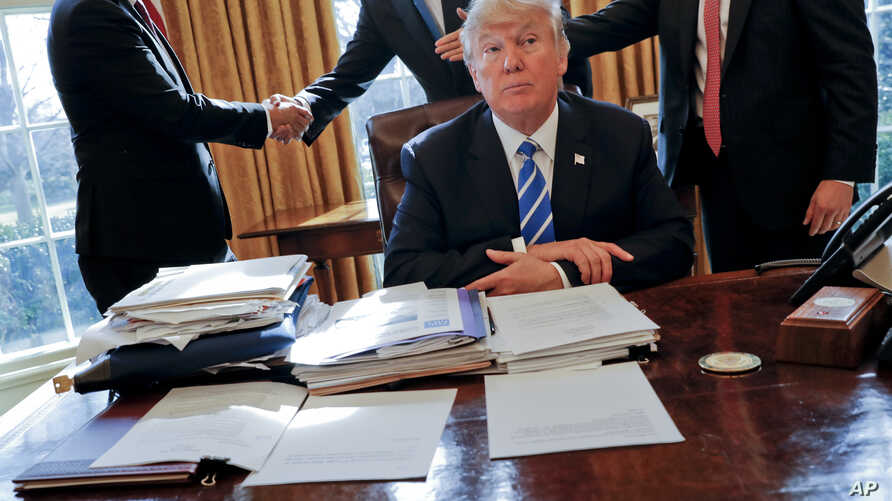 Trump-Attack on Financial Rules