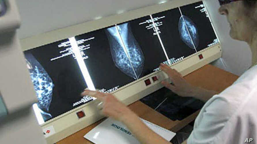 In clinical trials at Johns Hopkins Cancer Center in Baltimore, Maryland, doctors report they successfully pumped cancer-fighting medicine directly into a breast tumor.