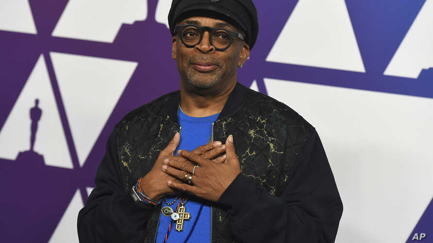 Spike Lee arrives at the 91st Academy Awards Nominees Luncheon on Feb. 4, 2019, at The Beverly Hilton Hotel in Beverly Hills, Calif.
