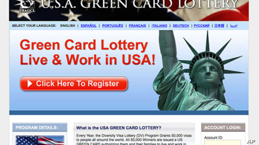 US officials are becoming more and more wary of people trying to game the green card lottery system.